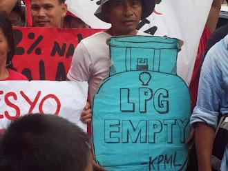 LPG empty