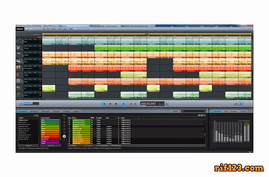 [Rif123.com] Magix Music Maker Premium 20.0.5.56 Terbaru 2014 Final