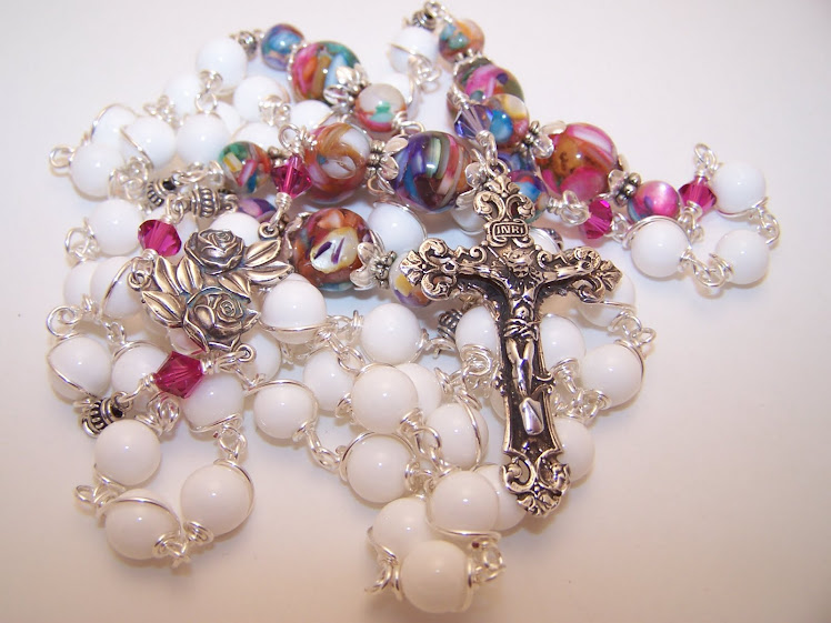 No. 70.  Emily's First Communion Rosary