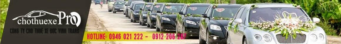 Dịch vụ cho thuê xe giá rẻ nhất Việt Nam của Đức Vinh