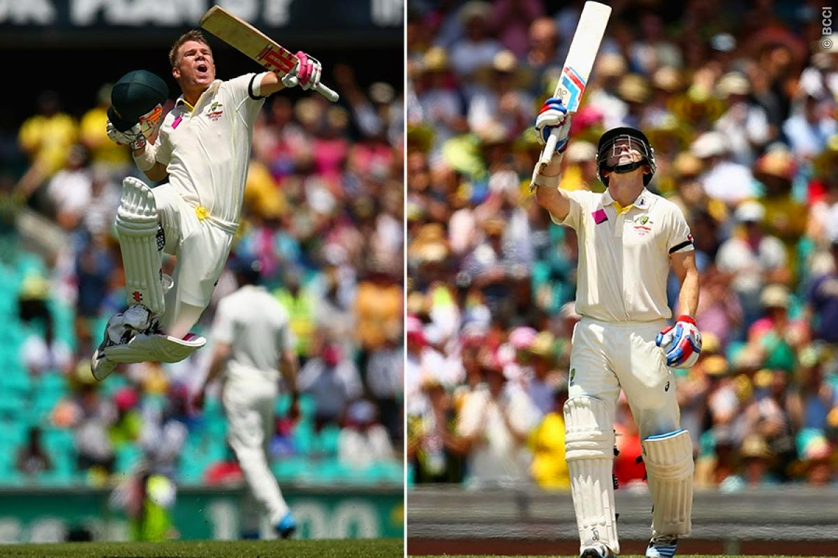 David-Warner-Chris-Rogers-Australia-vs-India-4th-Test-Sydney-2015