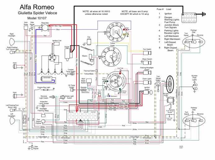 Alfa romeo spider wiring diagram 2002 Dodge Ram Ignition Switch Diagram Electronic Ignition Wiring Diagram Electronic Ignition Schematic