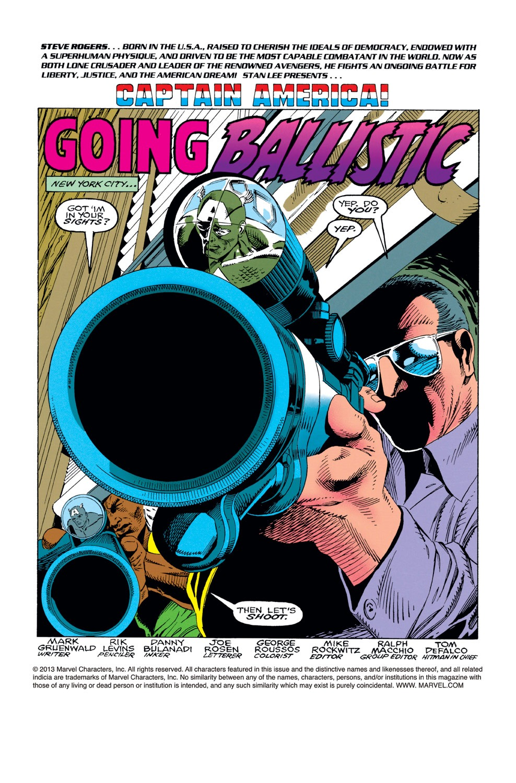 Captain America (1968) Issue #422 #372 - English 2