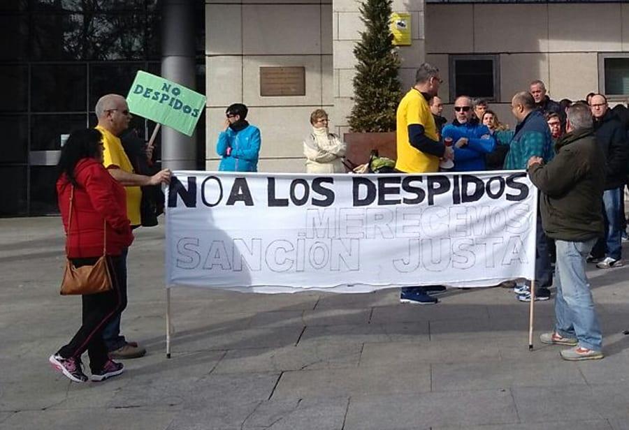 24 mayo Concentarción contra los despidos en el Ayuntamiento