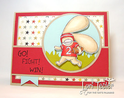Go! Fight! Win!-Designed by Lori Tecler-Inking Aloud-stamps from The Cat's Pajamas