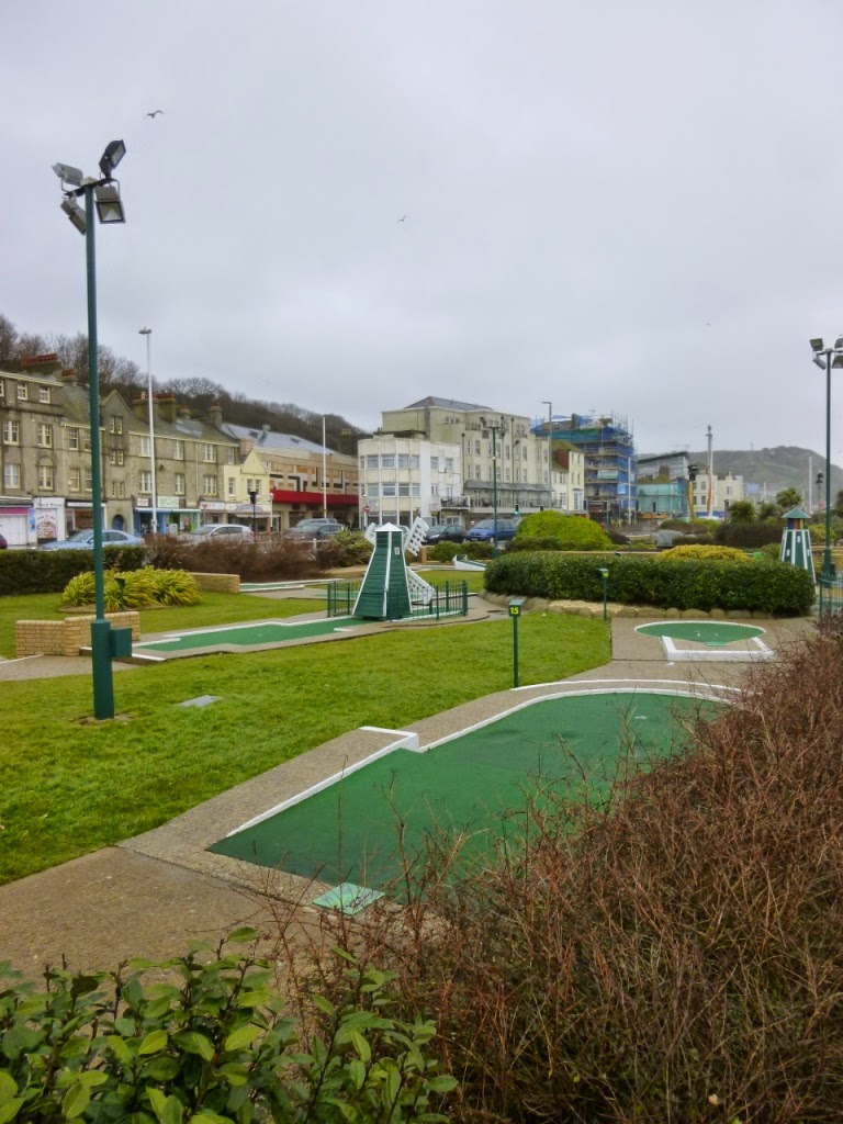 Crazy Golf in Hastings