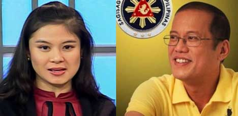 Kim Ledesma and Noynoy Aquino