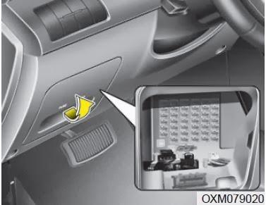cars fuses 2013 kia sorento fuses inner panel fuse