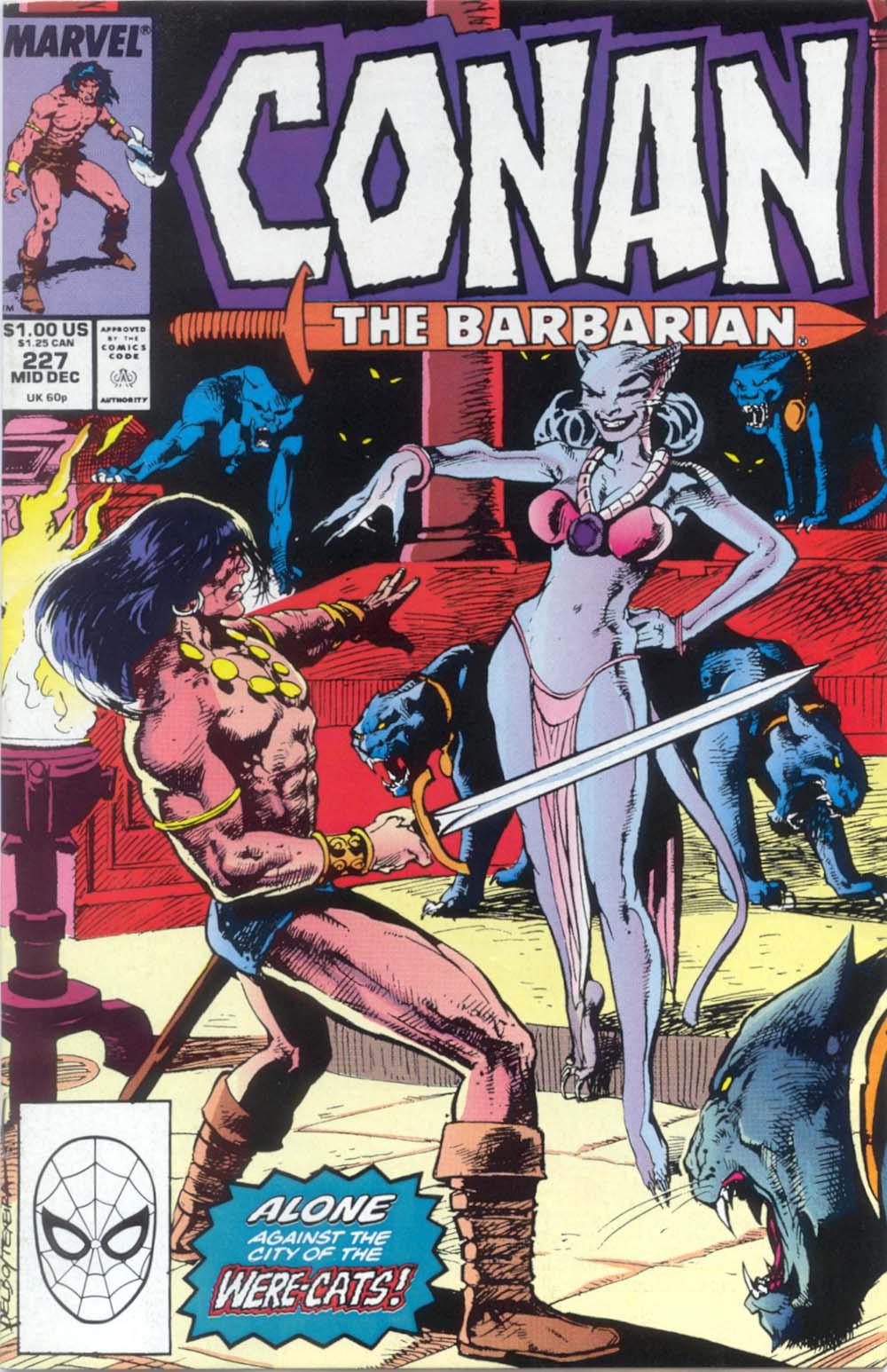 Conan the Barbarian (1970) Issue #227 #239 - English 1