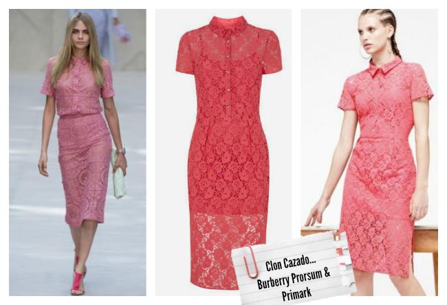 Clones moda primavera verano 2014 Burberry