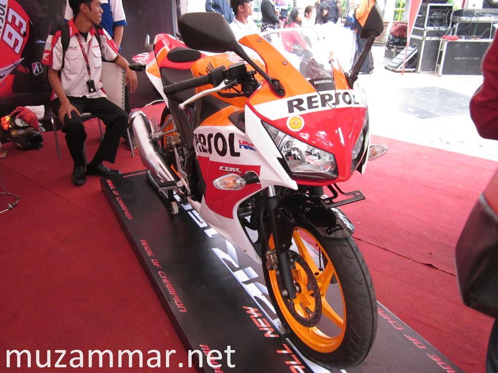 First impression All New Honda CBR 150R dalam acara launchingnya di Kota Medan . . . with Photo Gallery