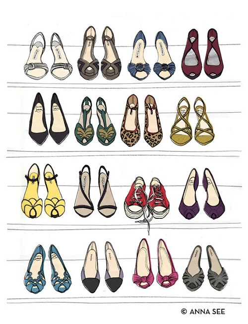 Dream Shoe Closet by Anna See