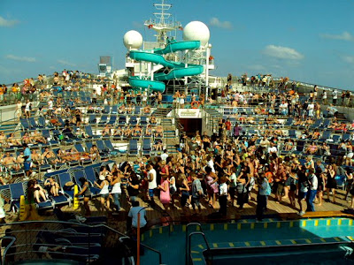 Cruise Ship Lido Deck