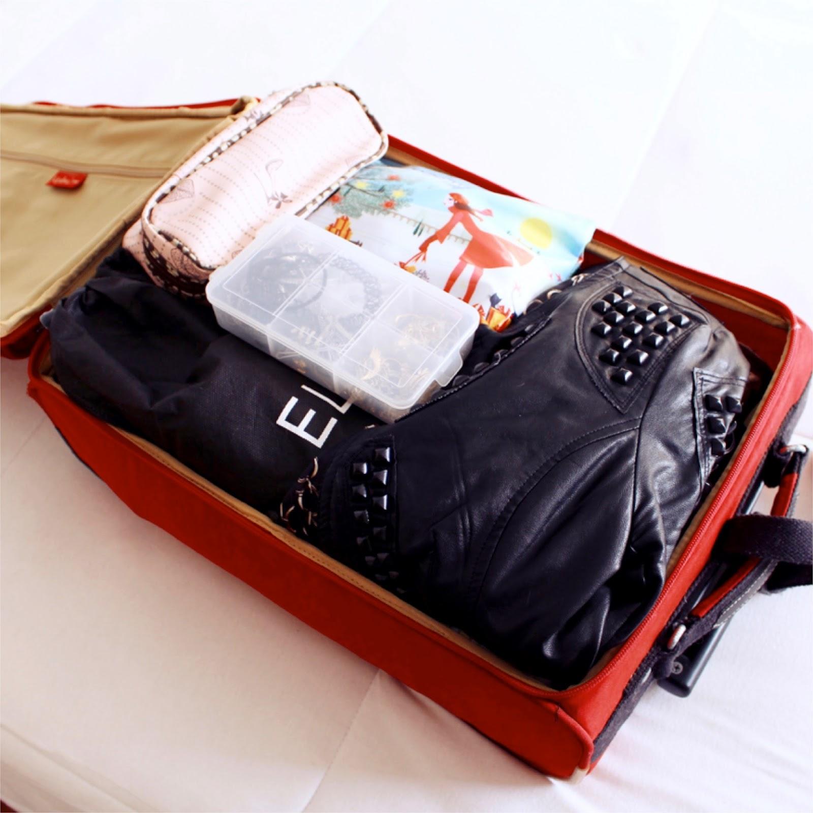Como fazer malas para poucos dias