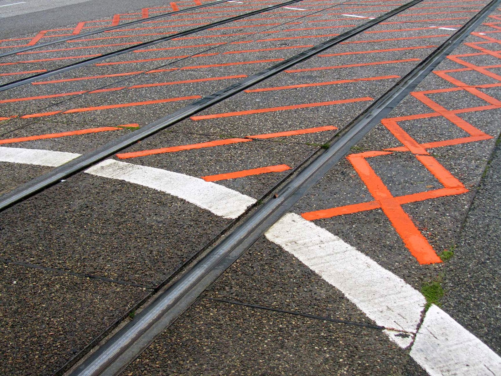 street: orange grid