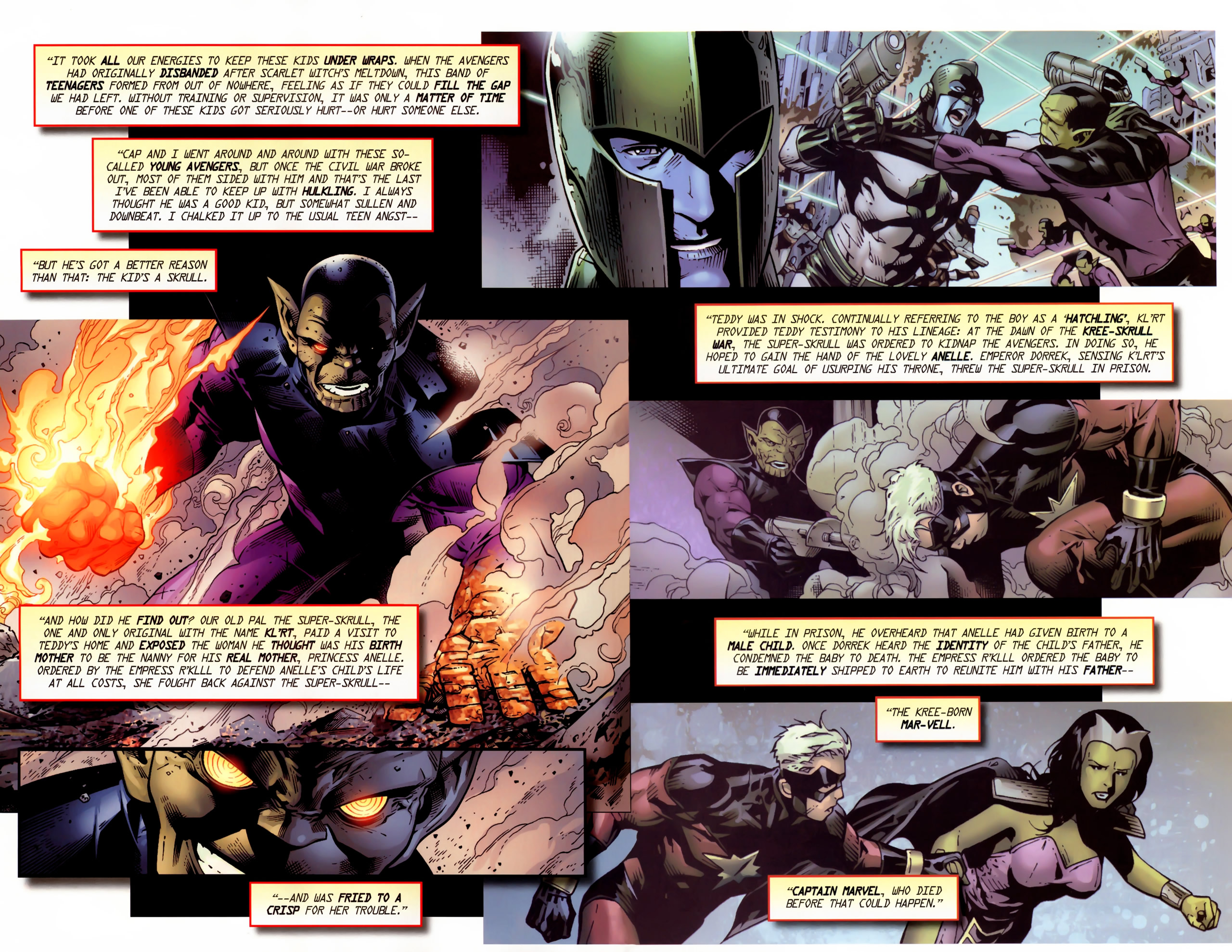 Read online Secret Invasion: The Infiltration comic -  Issue #11 - 22