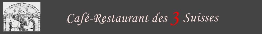 Café-restaurant des 3 Suisses à Genolier