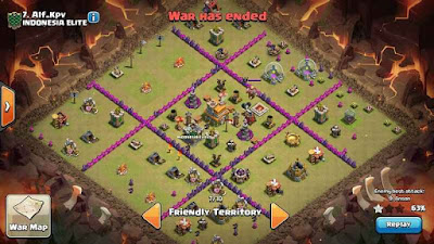 Base War Town Hall 7 Terkuat Clash of Clans