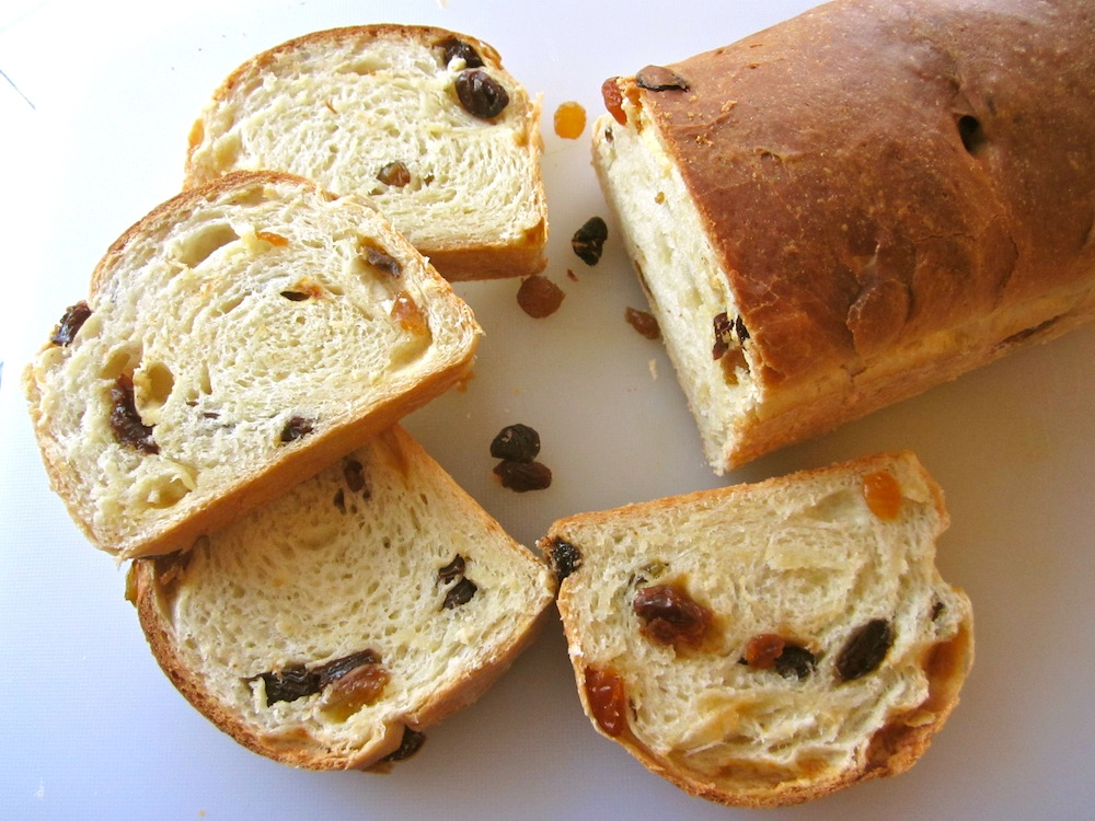 Corner Loaf: Old Fashioned Raisin Bread, No Cinnamon