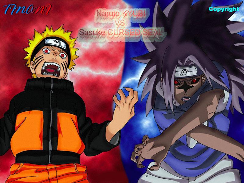 naruto vs sasuke wallpaper. Naruto Shippuden Sasuke Vs