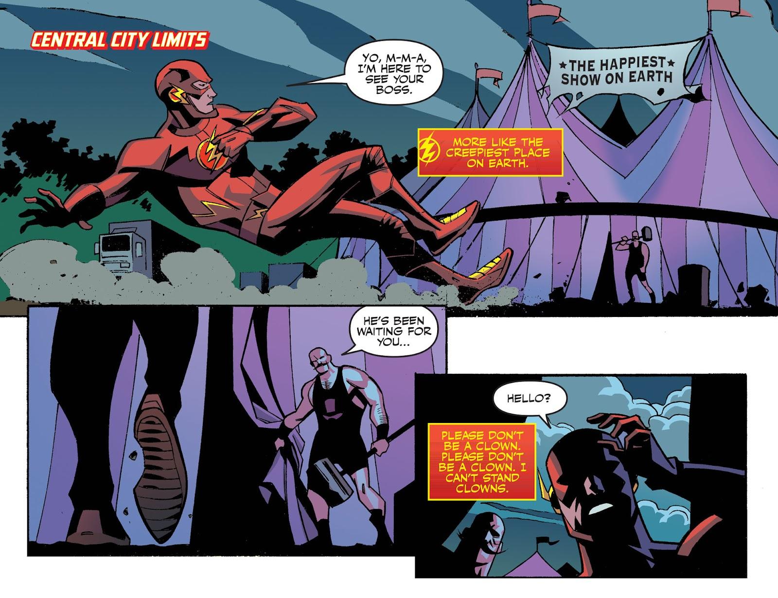 The Flash: Season Zero [I] Issue #4 #4 - English 7