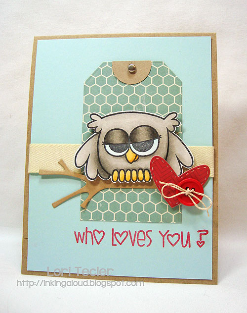 Who Loves You?--designed by Lori Tecler-Inking Aloud-stamps from Paper Smooches