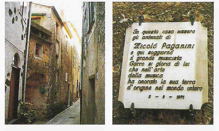 Niccol paganini luoghi for Piani casa del sud della louisiana