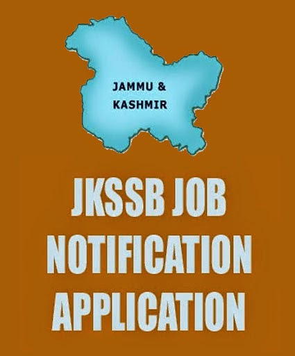 JKSSB Recruitment 2015 Other Posts in JKSSB Recruitment 2015