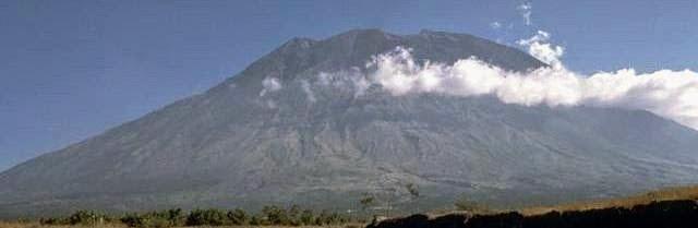 Mount Agung, volcano in Bali