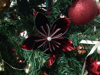 enfeite natal flor