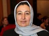دکتر مسعوده جلال برنده جایزه رهبری زنان ،از کنگره رهبری زنان جهان .۲۰۱۴