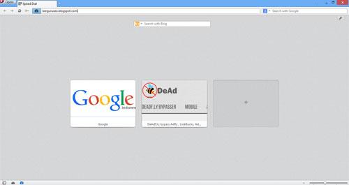 Software Browser Gratis dan Terbaik Untuk Komputer - Opera