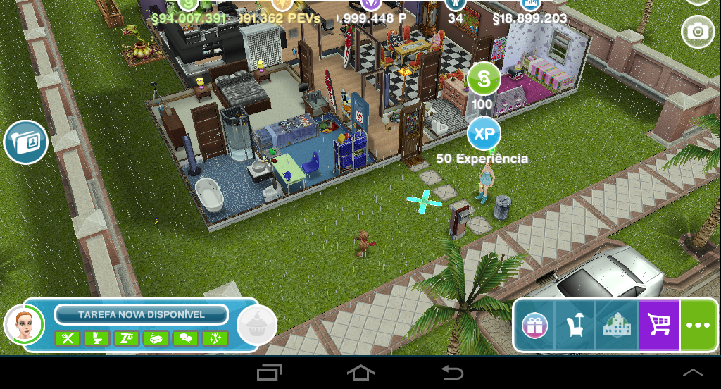 The sims freeplay casas fa a voc mesmo medir espa o do for Casa de diseno sims freeplay