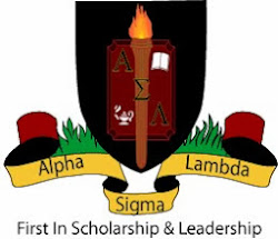 Member of the Ashford University Chapter of Alpha Sigma Lambda
