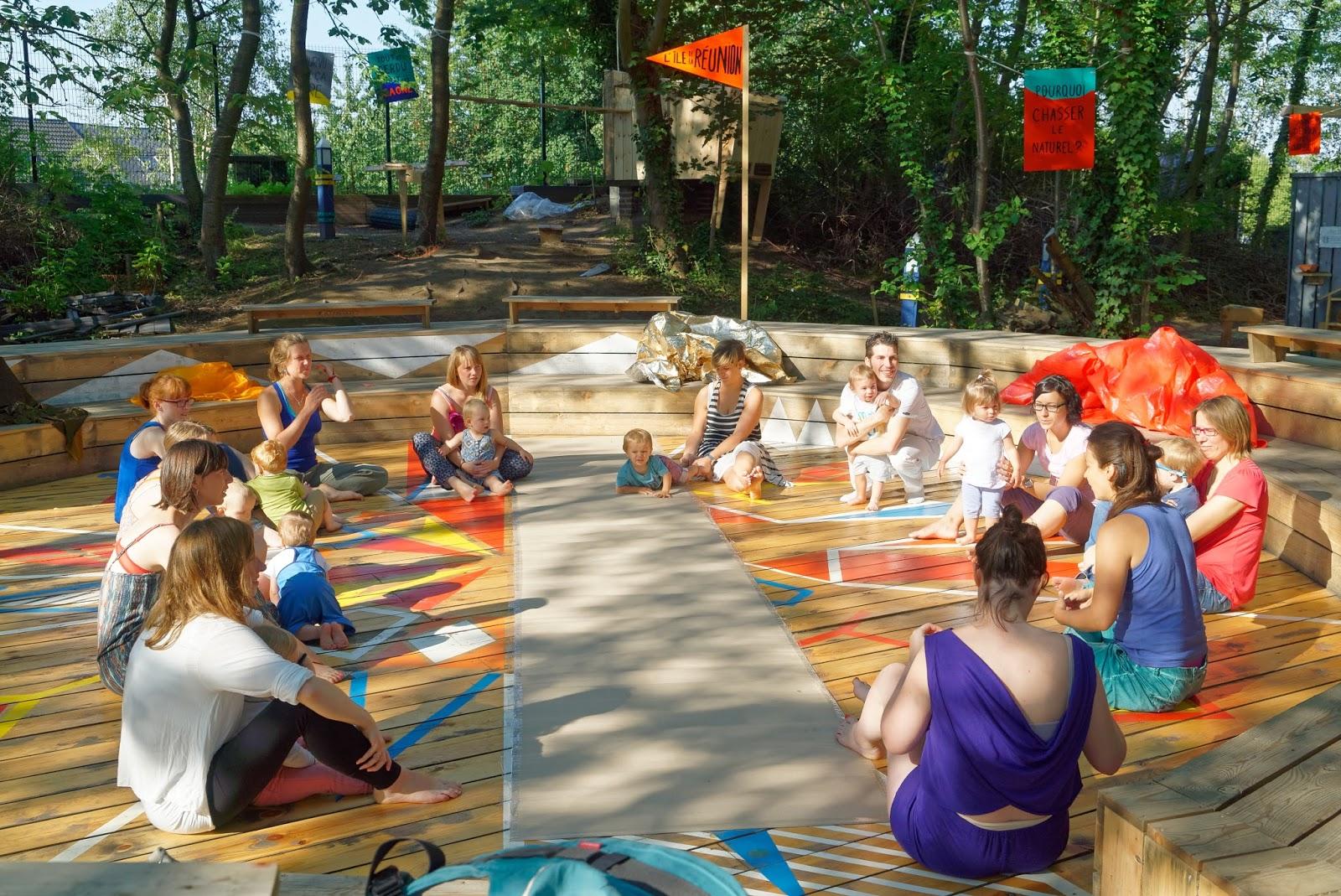 Artisane de mouvements atelier sensoriel danse pour les for Mons 2015 jardin suspendu
