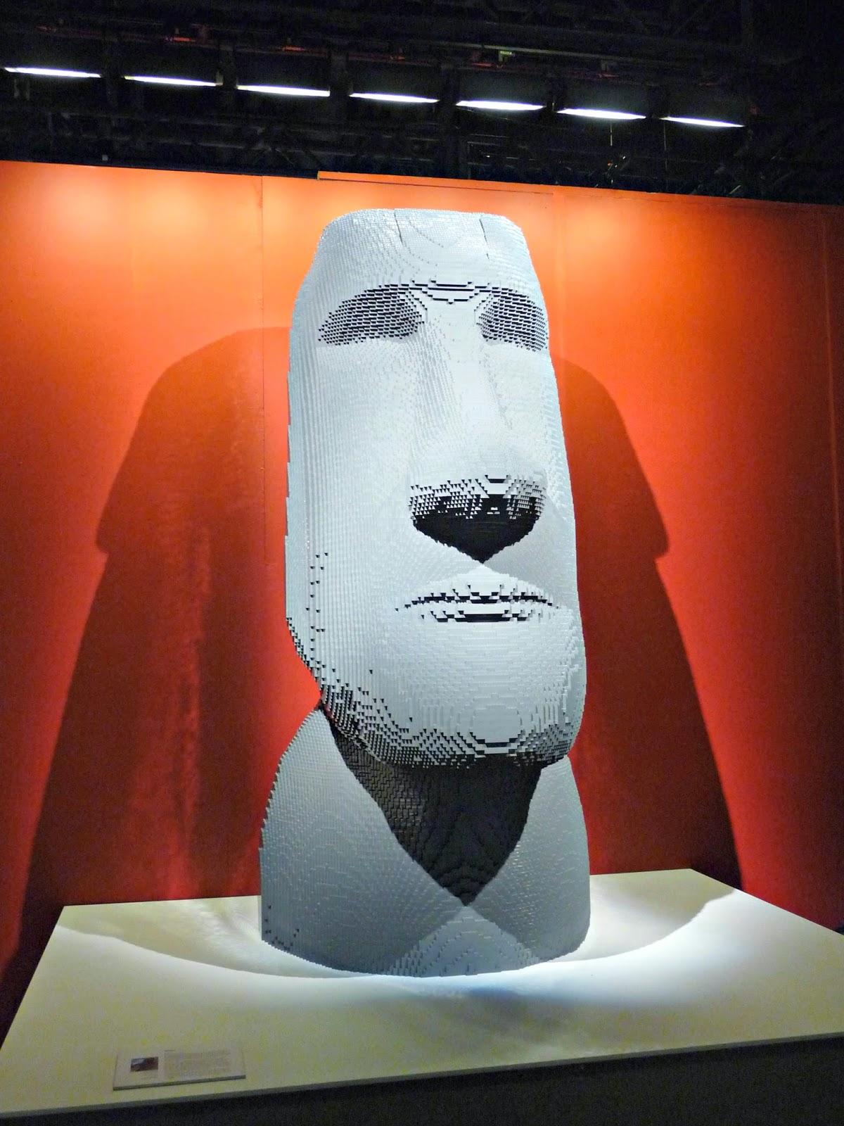 sculpture art legos