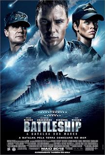 Pôster/capa/cartaz nacional de BATTLESHIP - A BATALHA DOS MARES (Battleship)