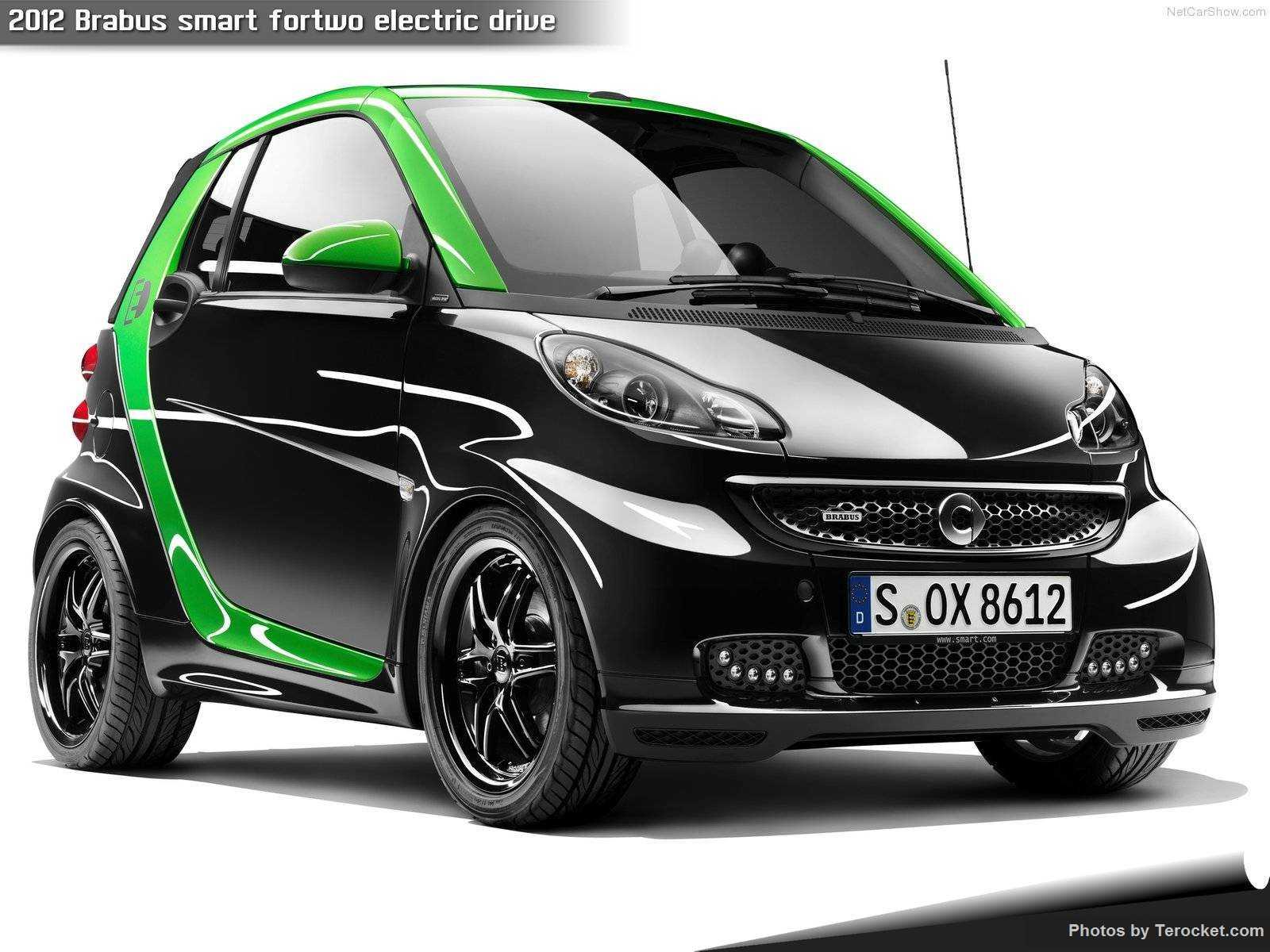 Hình ảnh xe ô tô Brabus smart fortwo electric drive 2012 & nội ngoại thất