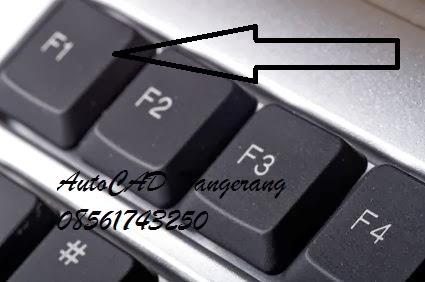 Mahir Menggunakan AutoCAD dengan Fasilitas Help.