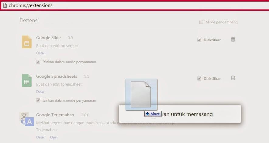 Ekstensi IDM Tidak Muncul Di Browser Chrome