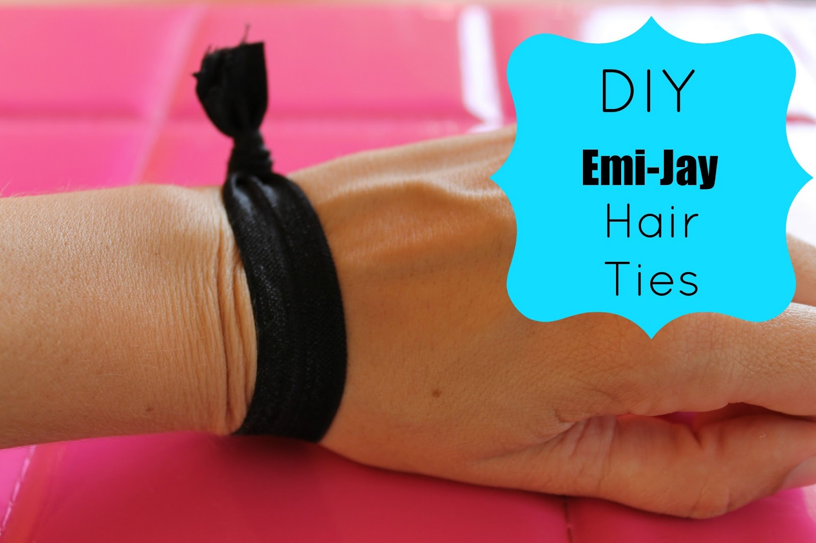 Make Your Own Emi-Jay Boutique Hair Ties With Creaseless Elastic ... a277b8db015