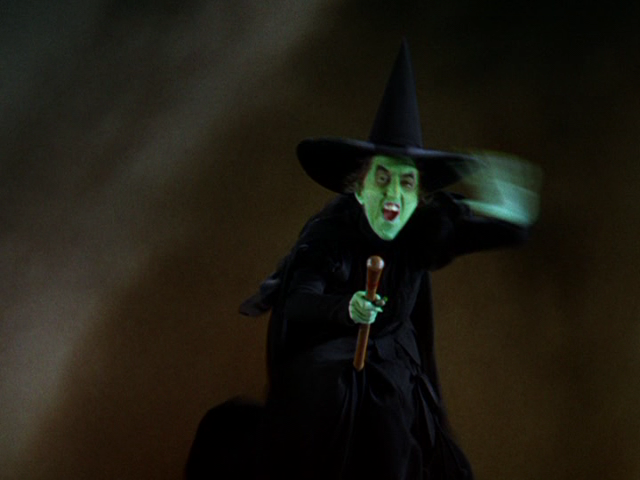 Wicked Witch Of The West Flying On Her Broom Can Analyze blog: The ...