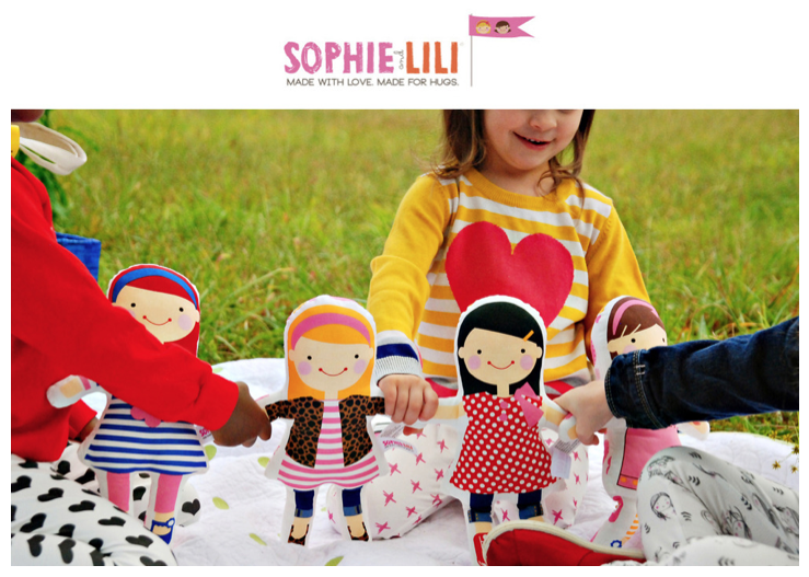 Sophie & Lili :: Made with love. Made for hugs.