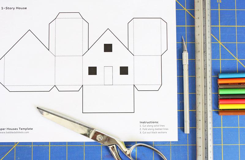 Как делать дома из бумаги