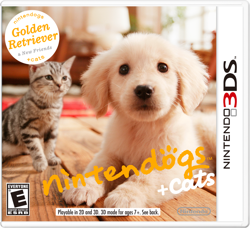 Golden Retriever Nintendogs and Cats