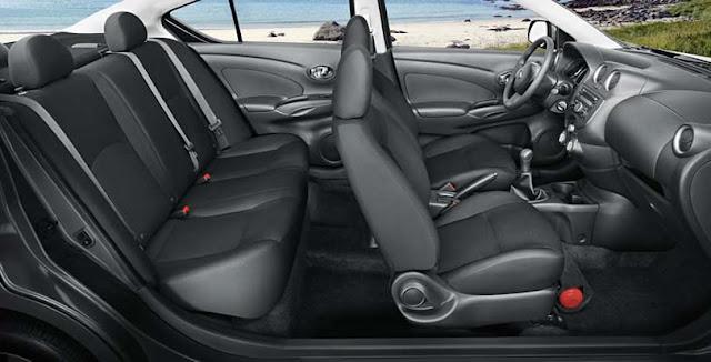 Nissan Versa - interior