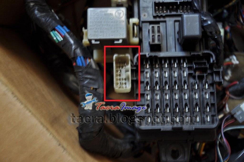Tacra s diy garage obd socket