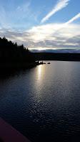 Sonnenuntergang Talsperre