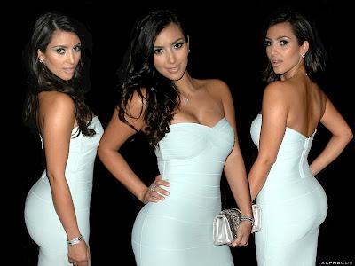 kim kardashians body