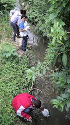 Monitoramento do rio das Pedras